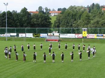 Rasenshow am neuen Sportplatz in Kumberg 2005